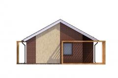 Проект панельного дома Prefab Homes Modular 69 кв. м