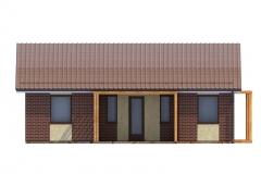 Проект СИП дома Prefab Homes Modular 69 кв. м