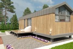 Проект мобильного дома Prefab Homes Mobile 30 кв. м
