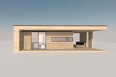 Модульный домик Prefab Homes Modern 25 кв. м