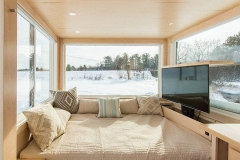 Спальное место в сборном домике Escape Vista