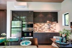 Кухня в модульном доме, США