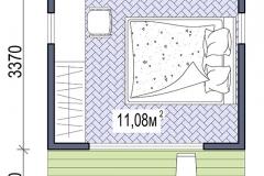 План модульного домика Prefab Homes Smart 11
