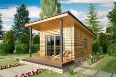 Модульный домик Prefab Homes Smart 15