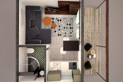 3D-план модульного домика Prefab Homes Smart 18