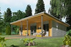 Проект модульного дома Prefab Homes Smart 40 кв. м