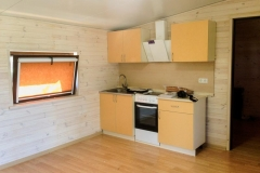 Кухня в модульном домике Smart 40