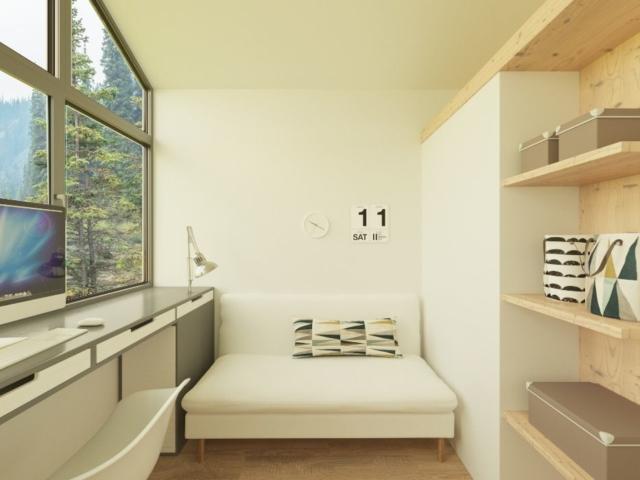 Дизайн интерьера для маленького домика