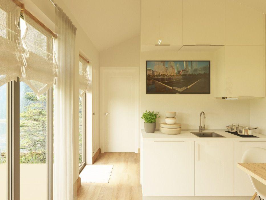 Дизайн кухни для мобильного СИП дома