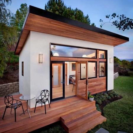 Пример модульного дома из США