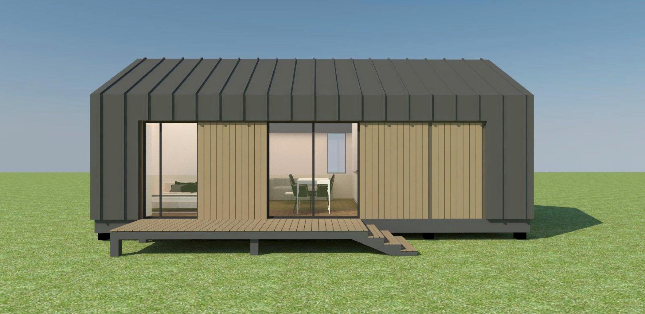 Проект Mobile 42 - дизайн дома, фото 1