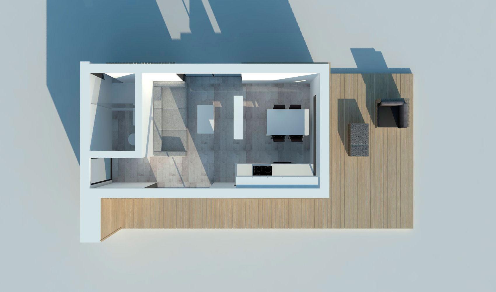 Проект Modern 20 - план этажа, фото 2