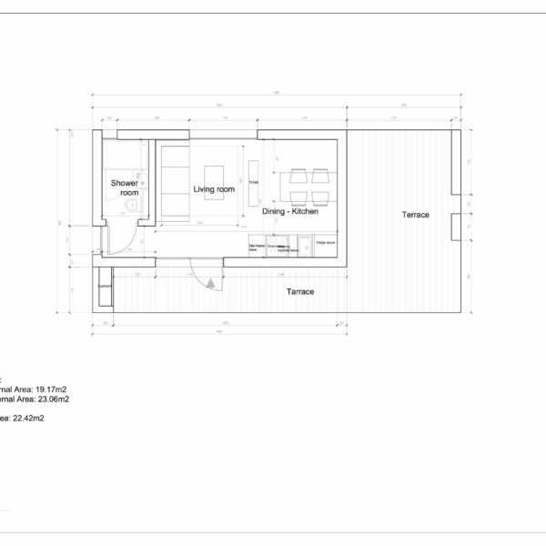 Проект Modern 20 - план этажа