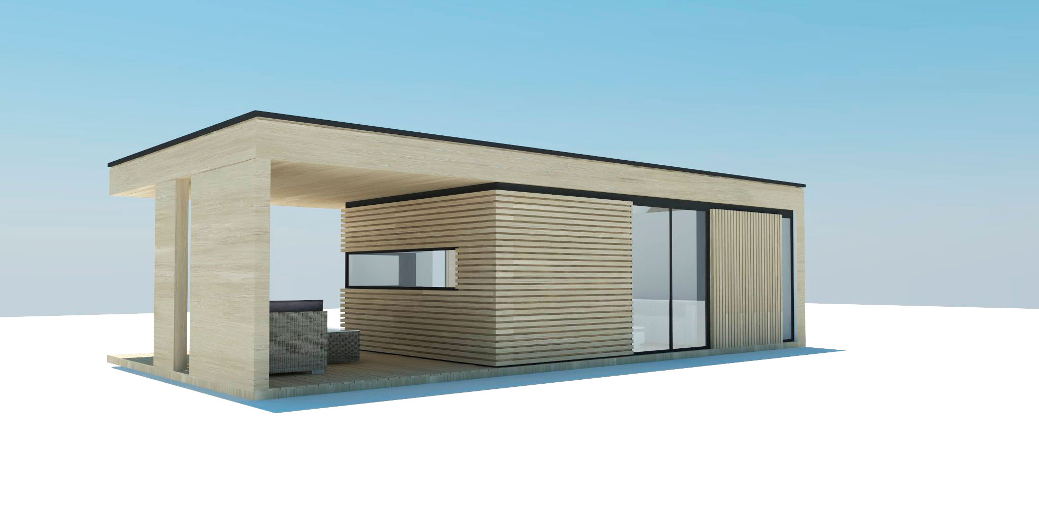 Проект Modern - дизайн дома, фото 3