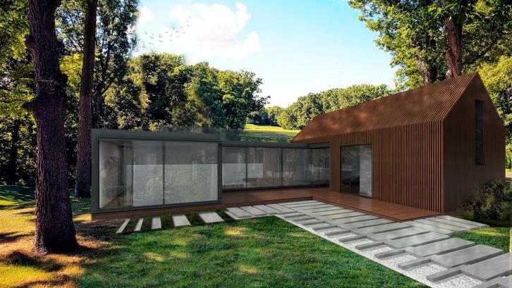 Проект Modern-B 80 - дизайн дома
