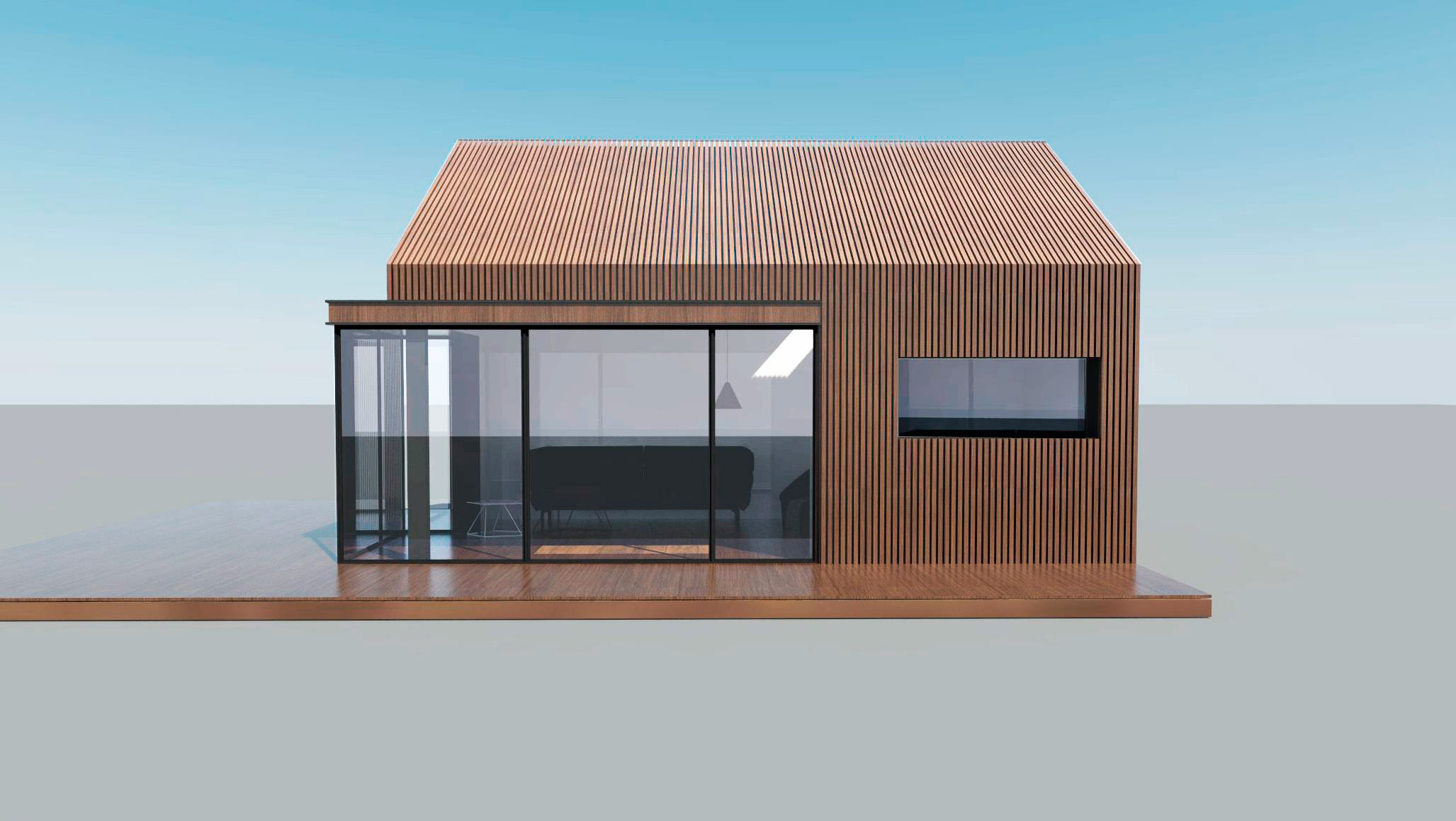 Проект Modern-B - дизайн дома, фото 1