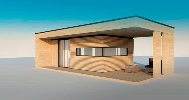 Проект дома Modern 20 кв. м