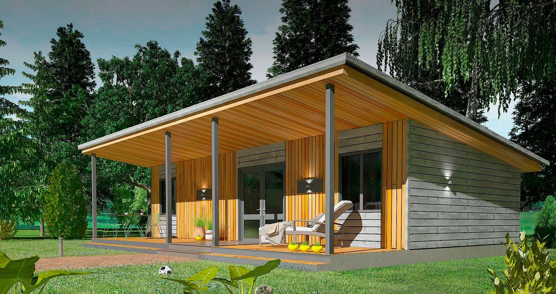 Проект дома Smart 40 кв. м