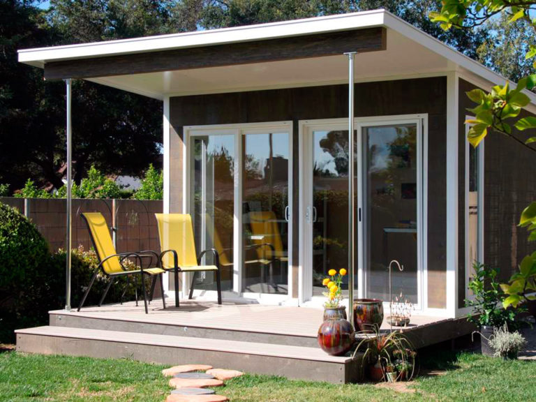 Домик Smart под офис или уютное жилище на одного