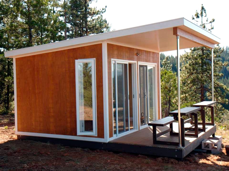 Дома Prefab Homes найдут свое место даже в горах